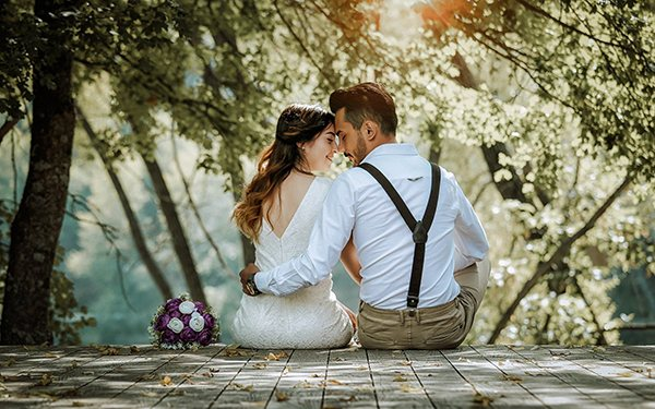 happy love life woman man marriage